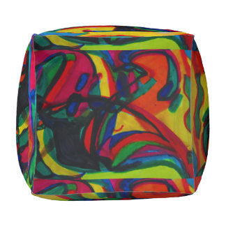 Spinning Pouf