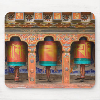 Spinning Prayer Wheels Mouse Pad