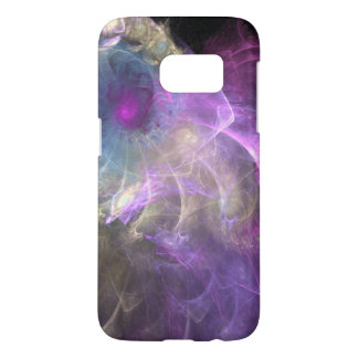 Spinning Purple Pastel Swirls Abstract Samsung Galaxy S7 Case