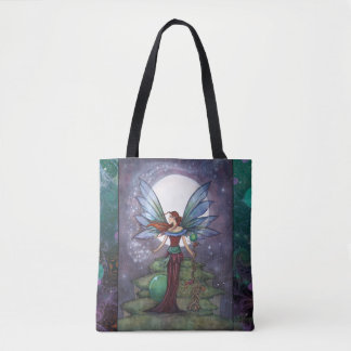 Spinning Stars Magical Fairy by Molly Harrison Tote Bag