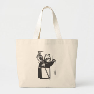 Spinning Thread Large Tote Bag