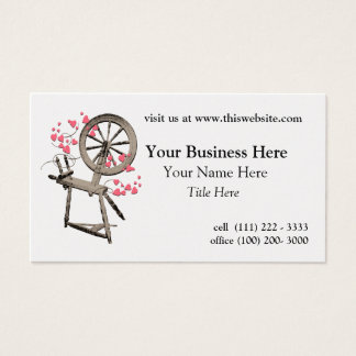 Spinning Wheel Business Card