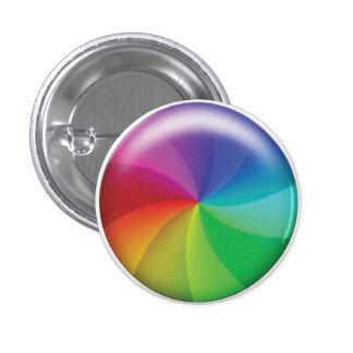 Spinning Wheel of Doom! 1 Inch Round Button