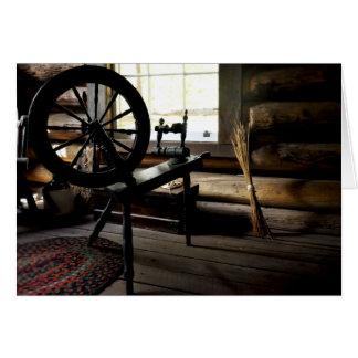 Spinning Wheel Scene Card