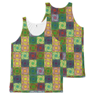 Spinny All-Over-Print Tank Top