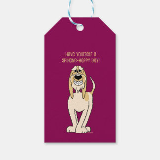 Spinone brightly Smile Pack Of Gift Tags