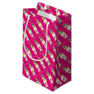 Spinone brightly Smile Small Gift Bag