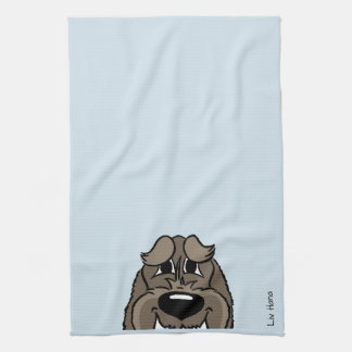 Spinone darkly Smile Kitchen Towel