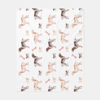 Spinone Fleece Blanket