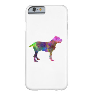 Spinone in watercolor barely there iPhone 6 case