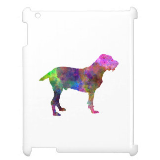 Spinone in watercolor iPad cases