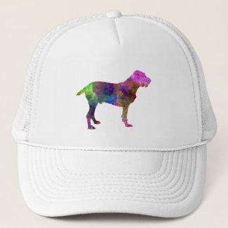 Spinone in watercolor trucker hat