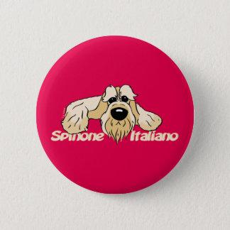 Spinone Italiano brightly head Cute 2 Inch Round Button