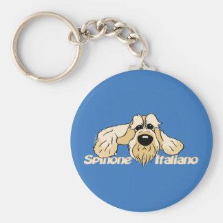 Spinone Italiano brightly head Cute Keychain