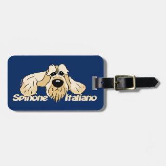 Spinone Italiano brightly head Cute Luggage Tag