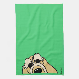 Spinone Italiano brightly head Kitchen Towel