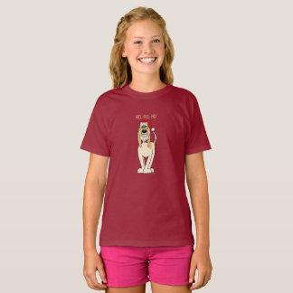 Spinone Italiano brightly Santa T-Shirt