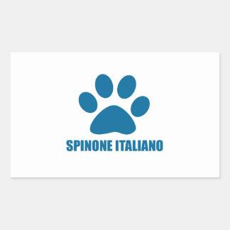 SPINONE ITALIANO DOG DESIGNS STICKER