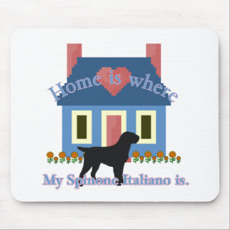 Spinone Italiano Home Is Mouse Pad