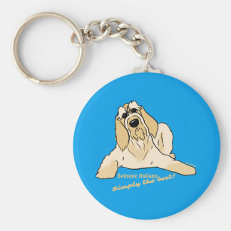Spinone Italiano light Simply the best! Keychain