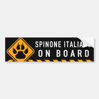 Spinone Italiano On Board Bumper Sticker
