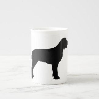 Spinone Italiano silo black.png Tea Cup