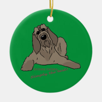 Spinone Italiano - Simply the best! Ceramic Ornament