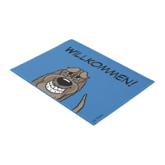 Spinone Italiano welcome Doormat