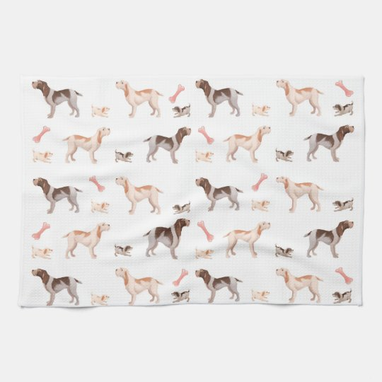 Spinone kitchen towel