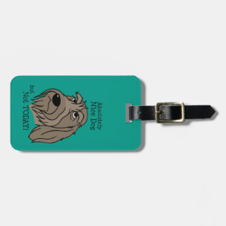 Spinone Nice dog Luggage Tag