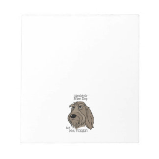 Spinone Nice dog Notepad