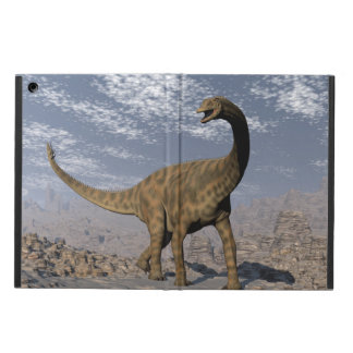 Spinophorosaurus dinosaur walking in the desert case for iPad air
