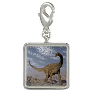 Spinophorosaurus dinosaur walking in the desert charm