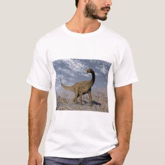 Spinophorosaurus dinosaur walking in the desert T-Shirt