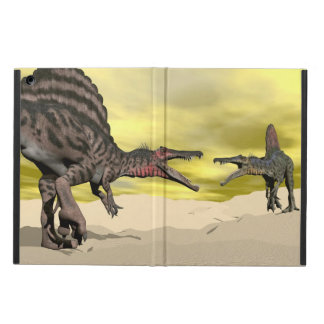 Spinosaurus dinosaur fighting - 3D render iPad Air Cover