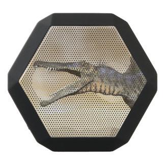 Spinosaurus dinosaur in the desert - 3D render Black Bluetooth Speaker