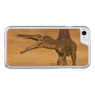 Spinosaurus dinosaur in the desert - 3D render Carved iPhone 8/7 Case