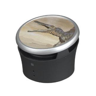 Spinosaurus dinosaur in the desert - 3D render Speaker