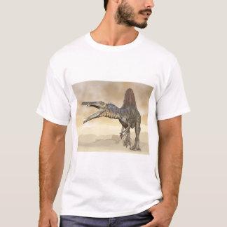Spinosaurus dinosaur in the desert - 3D render T-Shirt