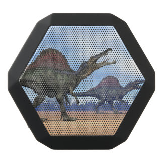 Spinosaurus dinosaurs walk - 3D render Black Bluetooth Speaker