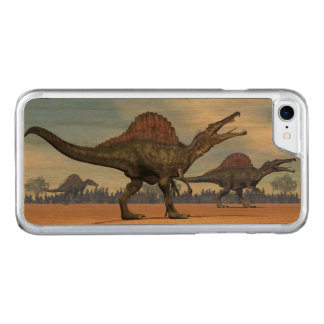 Spinosaurus dinosaurs walk - 3D render Carved iPhone 8/7 Case