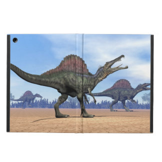 Spinosaurus dinosaurs walk - 3D render Cover For iPad Air