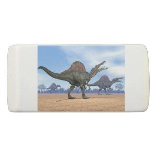 Spinosaurus dinosaurs walk - 3D render Eraser