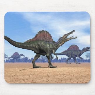 Spinosaurus dinosaurs walk - 3D render Mouse Pad