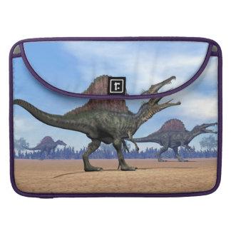 Spinosaurus dinosaurs walk - 3D render Sleeve For MacBooks