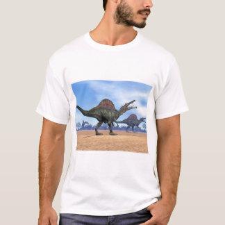 Spinosaurus dinosaurs walk - 3D render T-Shirt