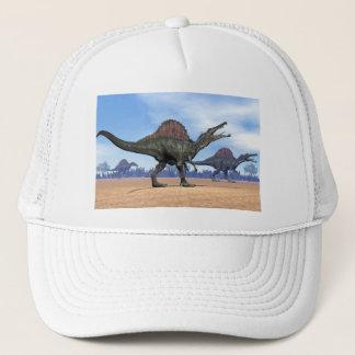 Spinosaurus dinosaurs walk - 3D render Trucker Hat