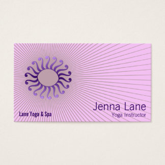 Spiral Arm Decorative Business Card