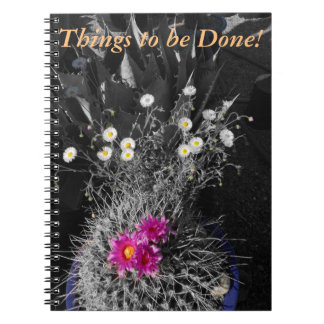 Spiral Bound Desert Themed Notebook