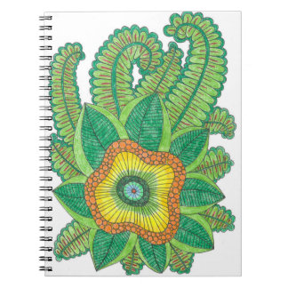 Spiral bound note book